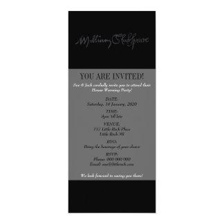 William Shakespeare Signature Card