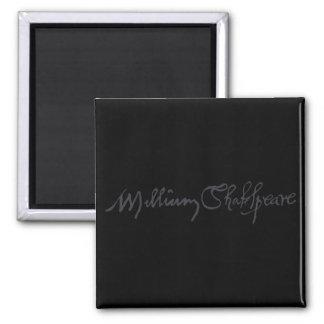 William Shakespeare Signature Refrigerator Magnets