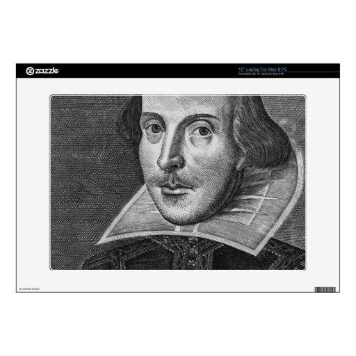 William Shakespeare Skins Para Portátil