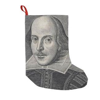 William Shakespeare Small Christmas Stocking