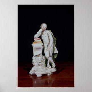 William Shakespeare, sobre la base del monumento Póster