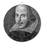 William Shakespeare Tablero Dardos