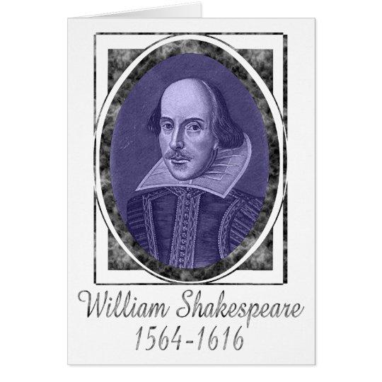 William Shakespeare Tarjeta De Felicitación