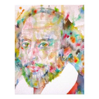 william shakespeare - watercolor portrait.1 letterhead