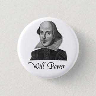 William Shakespeare Will Power Button