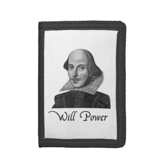 William Shakespeare Will Power Trifold Wallet