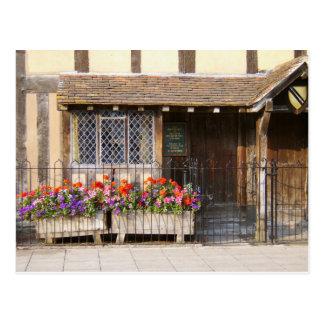 William Shakespeare's Birthplace Postcard