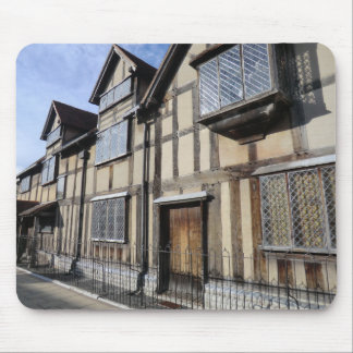 William Shakespeare's House, Stratford Upon Avon Mouse Pad