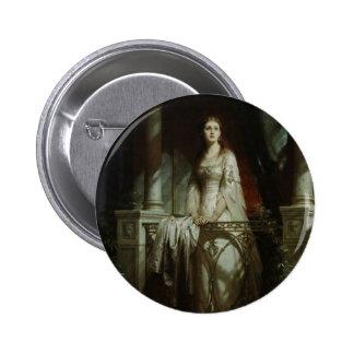 William Shakespeare's Juliet Pinback Button