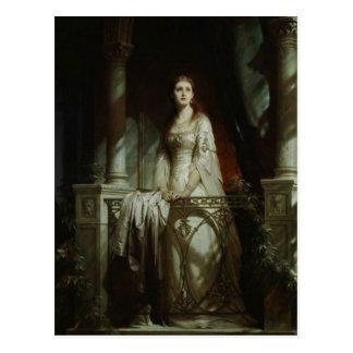 William Shakespeare's Juliet Postcard