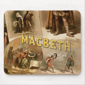 William Shakespeare's Macbeth Mouse Pad