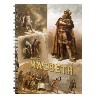 William Shakespeare's Macbeth Spiral Notebook