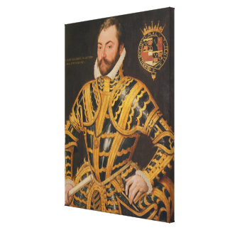William Somerset 3rd Earl of Worcester Canvas Print