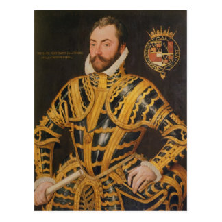 William Somerset 3rd Earl of Worcester Postcard