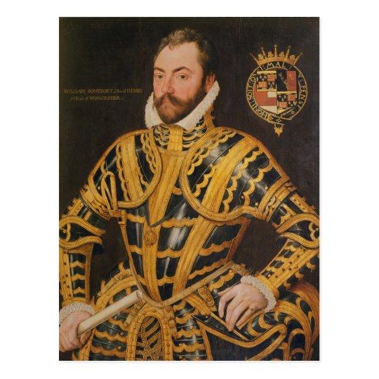 William Somerset 3rd Earl of Worcester Postcard