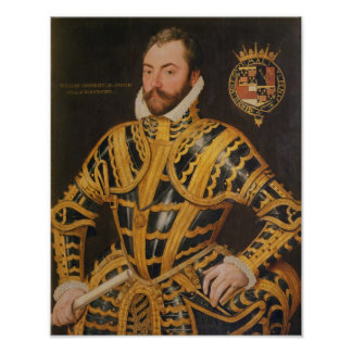 William Somerset 3rd Earl of Worcester Poster