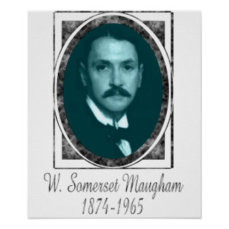 William Somerset Maugham Poster