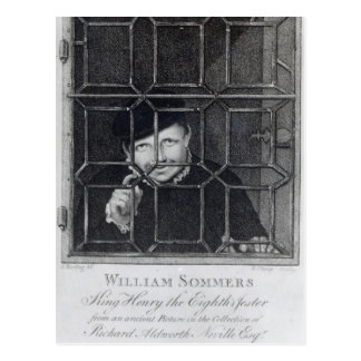 William Sommers, engraved by R. Clamp, 1794 Postcard