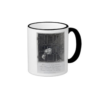 William Sommers, engraved by R. Clamp, 1794 Ringer Mug