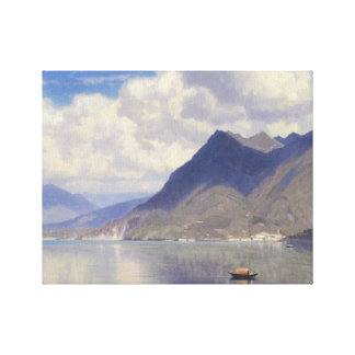 William Stanley Haseltine - Lago Maggiore Canvas Print