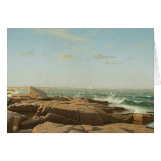 William Stanley Haseltine - Narragansett Bay Card