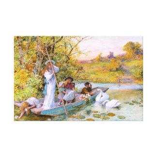 William Stephen Coleman: The Boating Canvas Prints