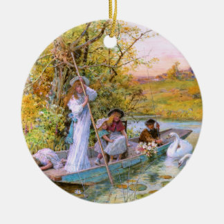 William Stephen Coleman: The Boating Ceramic Ornament