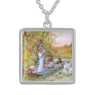 William Stephen Coleman: The Boating Square Pendant Necklace