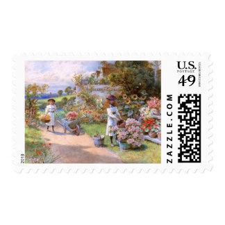 William Stephen Coleman: The Flower Garden Stamps