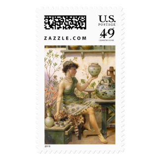 William Stephen Coleman: The Potter's Daughter Postage Stamps