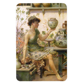 William Stephen Coleman: The Potter's Daughter Magnets