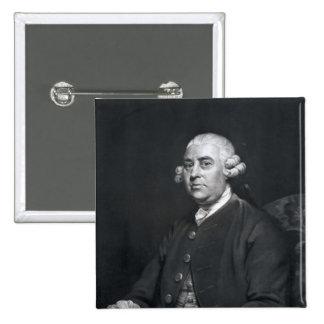 William Strahan, engraved by John Jones, 1792 Button