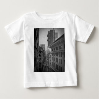 William Street North From Exchange Place New York Baby T-Shirt