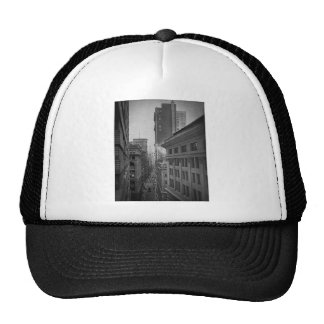 William Street North From Exchange Place New York Hats