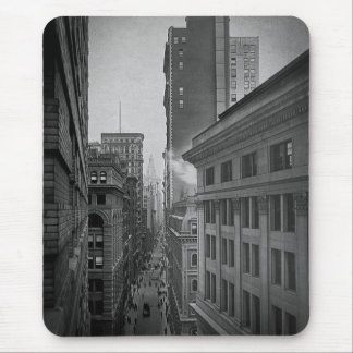 William Street North From Exchange Place New York Mouse Pad