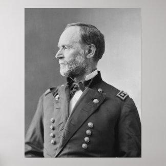 William T. Sherman Poster