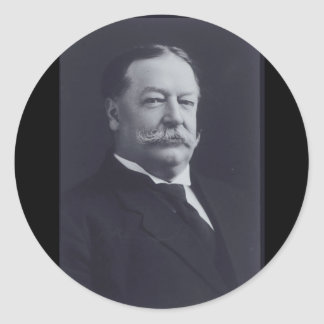 William Taft 27 Classic Round Sticker