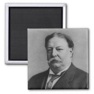 William Taft 2 Inch Square Magnet