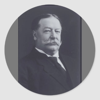 William Taft Classic Round Sticker