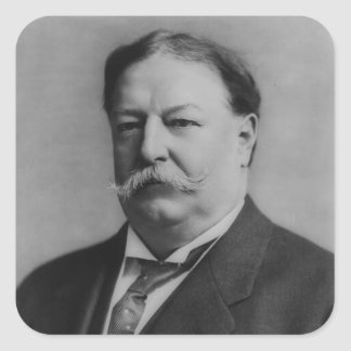 William Taft Square Sticker