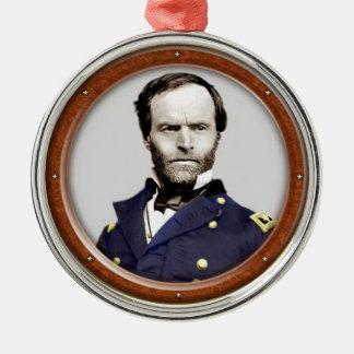 William Tecumseh Sherman Metal Ornament