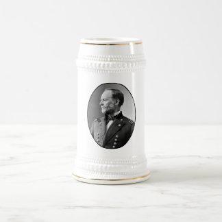 William Tecumseh Sherman 18 Oz Beer Stein