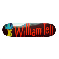 William Tell Apples Skateboard Deck