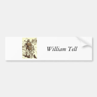 William Tell Bumper Sticker