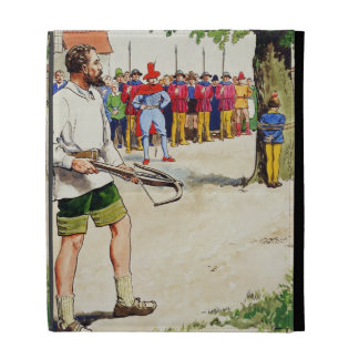 William Tell, from 'Peeps into the Past', publishe iPad Folio Case