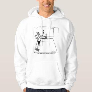 William Tell Racquetball Shot Hoodie