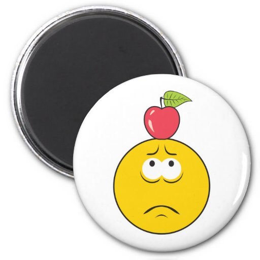 William Tell Smiley Face Fridge Magnets