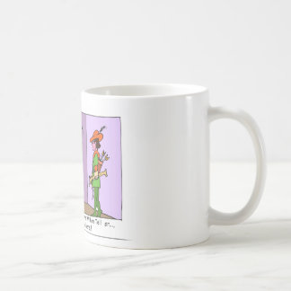 William Tell The Early Years Offbeat Cartoon Gifts Coffee Mug