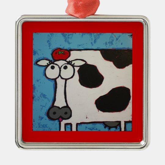 William Tell Tomato cow ornament