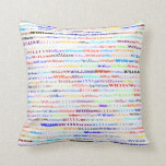 William Text Design II Throw Pillow